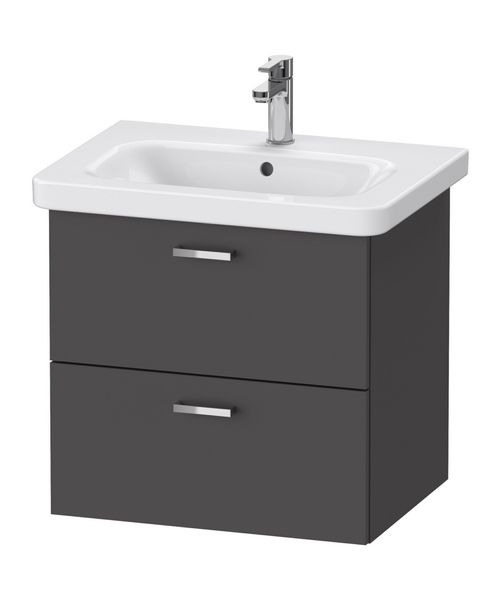 Duravit XBase 2 Drawer Vanity Unit For DuraStyle Basin