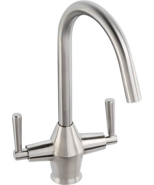 Abode Taura Stainless Steel Monobloc Kitchen Mixer Tap