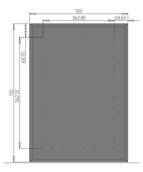 Technical drawing 21009 / MI012
