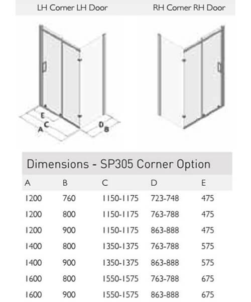 Technical drawing 49814 / SP305-12X76LHCLHD