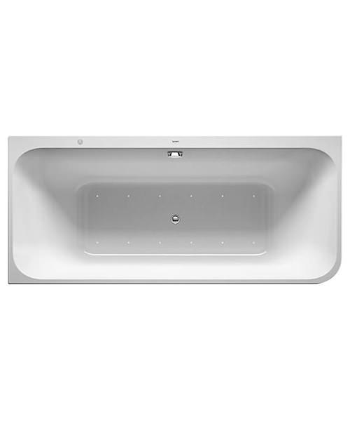 Duravit Happy D.2 Plus 1800 x 800mm Whirlpool Bathtub