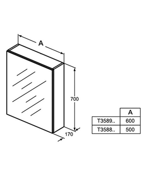 Technical drawing 60621 / T3588AL