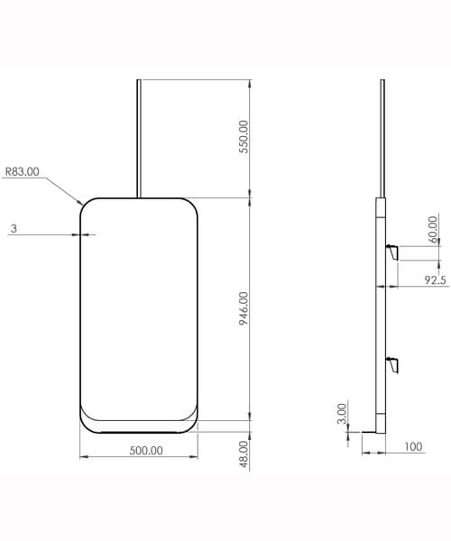 Technical drawing 63276 / VOL5001