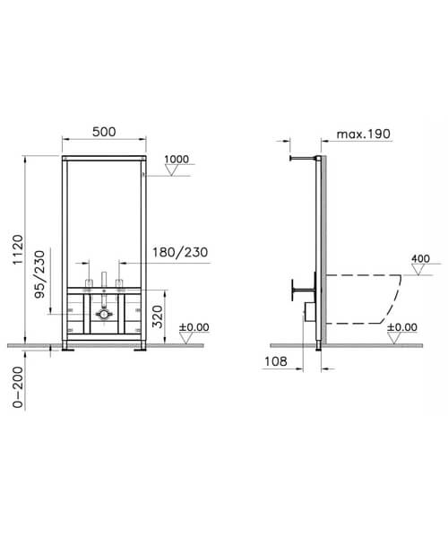 Technical drawing 64119 / 780-5800