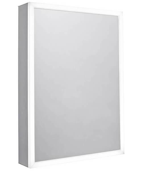 Tavistock Flex Single Door 500 x 700mm LED Illuminated Mirror Cabinet