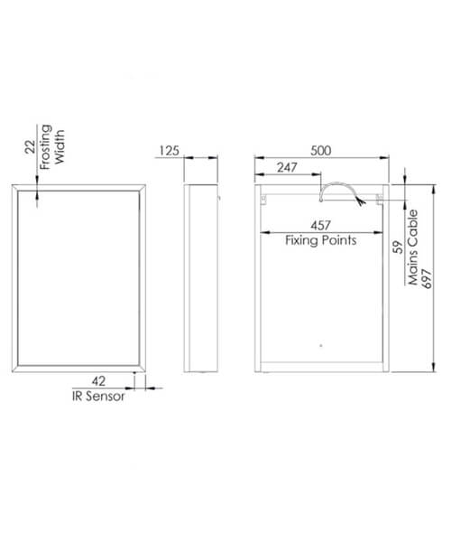 Technical drawing 62638 / FXC050