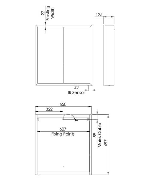 Technical drawing 62639 / FXC065