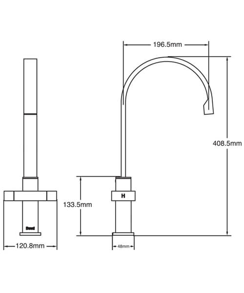 Technical drawing 63288 / BTN104