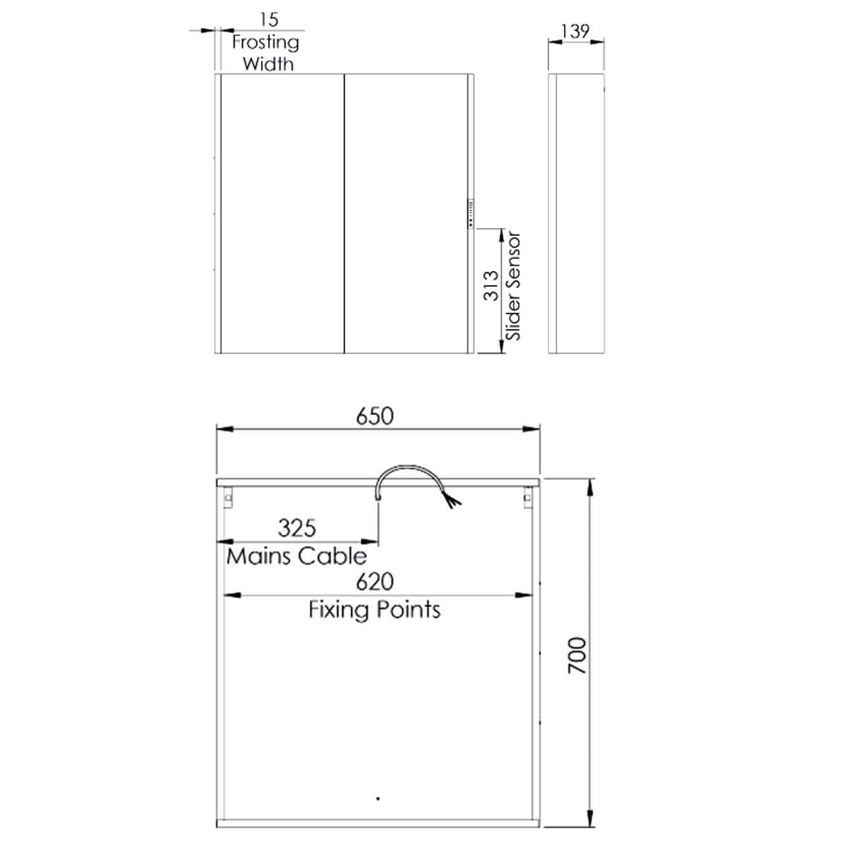 Technical drawing 62641 / SDC065