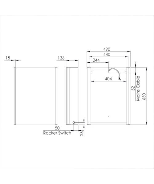 Technical drawing 62643 / STC044