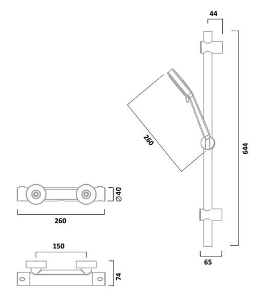 Technical drawing 62652 / SQT2416