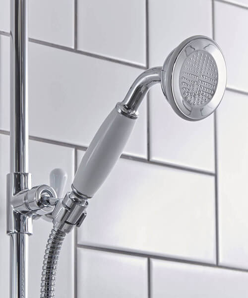 Additional image of Tavistock Cheltenham Thermostatic Exposed Dual Function Shower System