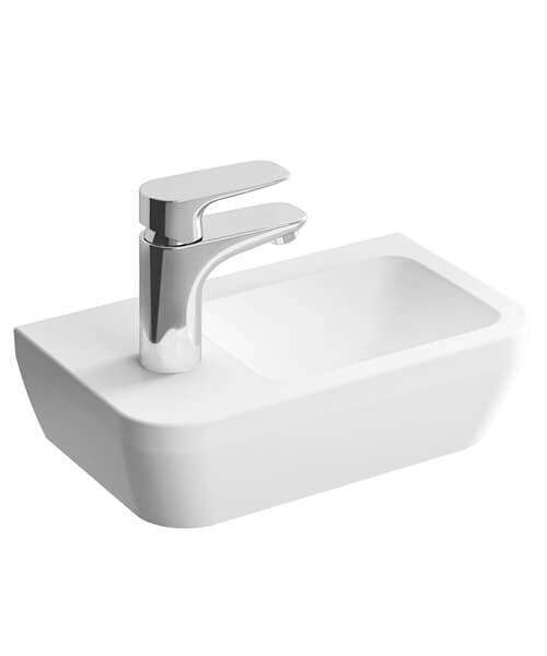 VitrA Integra Compact Wall Hung Basin With Overflow Hole