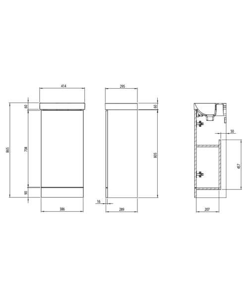 Technical drawing 62654 / CA400F.OB