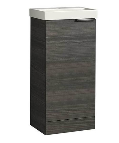 Additional image of Tavistock Cadence 414mm Single Door Cloakroom Unit And Basin