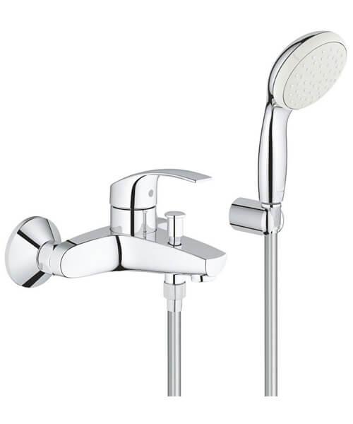 Grohe Eurosmart Single Lever Half Inch Bath Shower Mixer Set