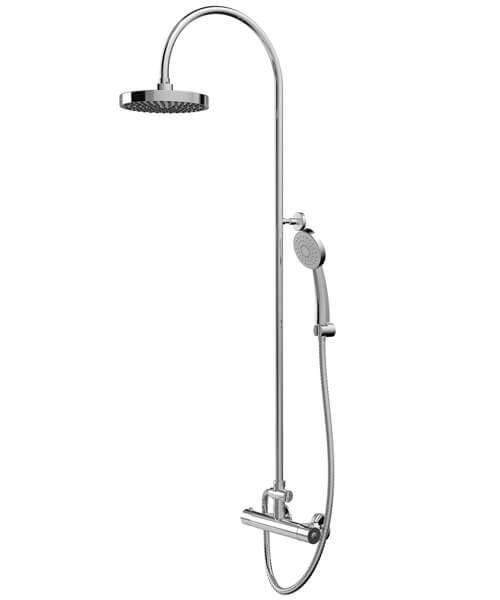 Bristan Cooltouch Buzz Cool Touch Shower Mixer Bar With Rigid Riser Kit