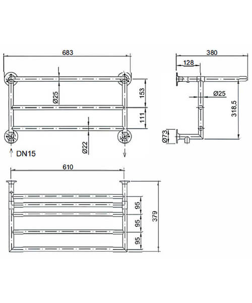 Technical drawing 18365 / AHC103