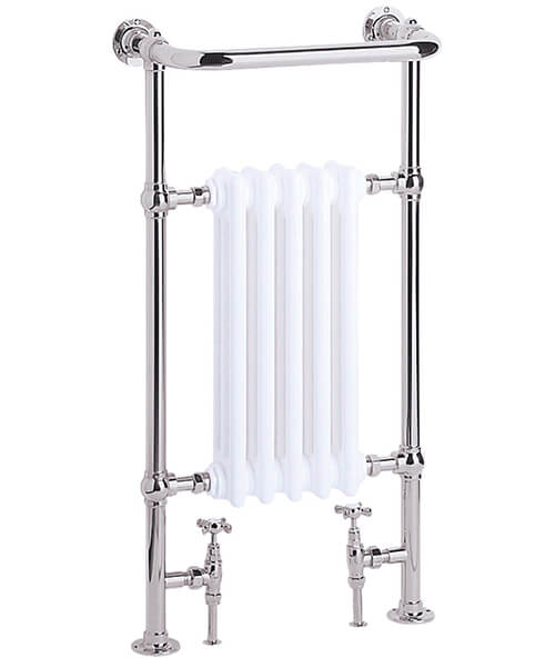 Heritage Baby Clifton 674mm Wide Heated Towel Rail