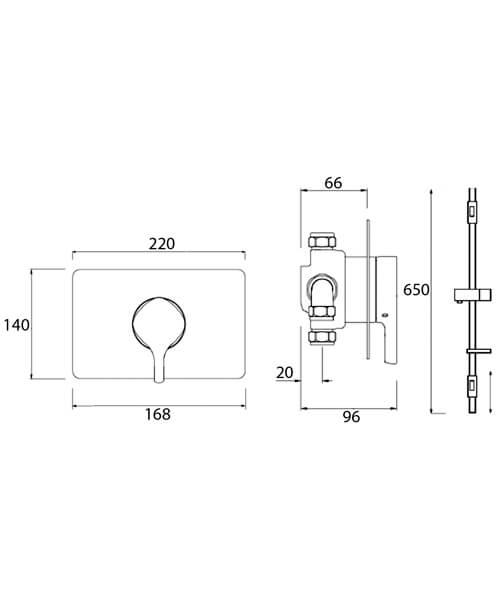 Technical drawing 51242 / FLT SQSHCAR C