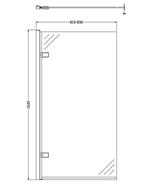 Technical drawing 61851 / NSSQ7