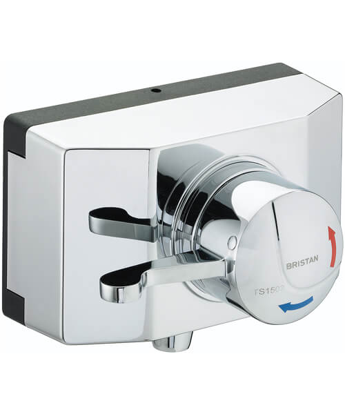 Bristan Gummers Opac Exposed Shower Valve With Lever And Shroud