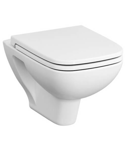 VitrA S20 520mm Wall Hung Rim-Ex WC Pan