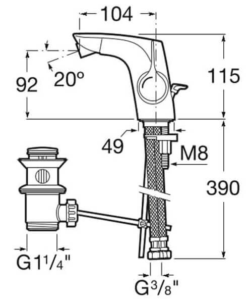 Technical drawing 41863 / 5A603AC00