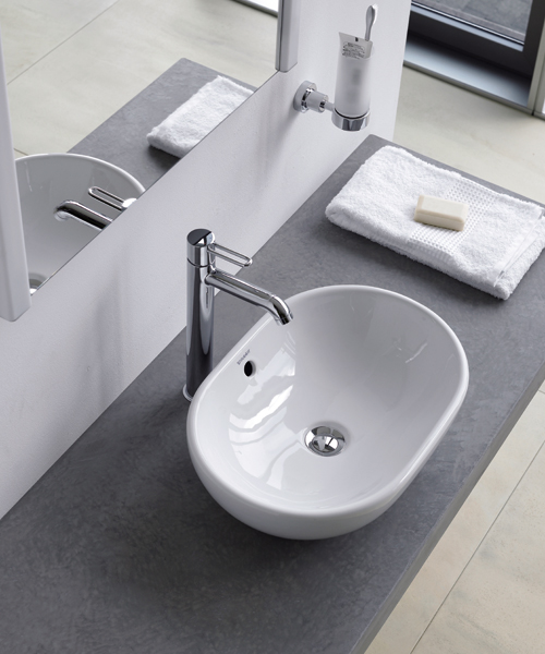 Additional image of Duravit Bathroom Foster 495 x 350mm Countertop Wash Bowl