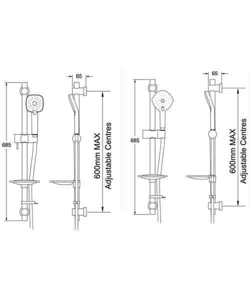 Technical drawing 63287 / EKIT03/A