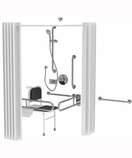 Saneux Care Doc M Shower Pack With Concealed Fixings