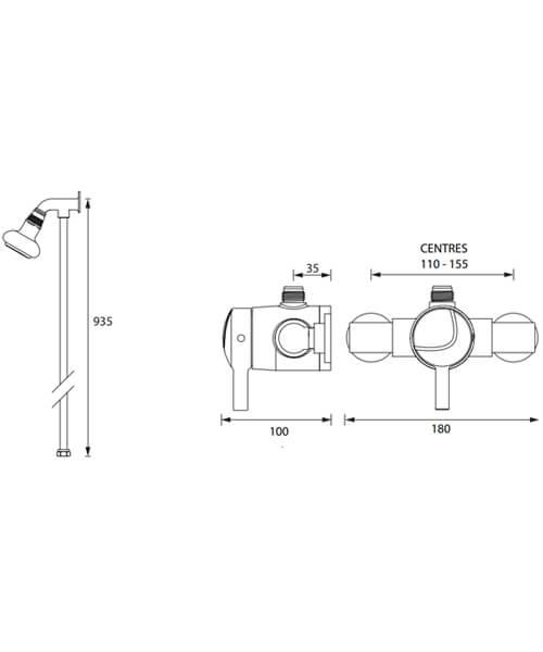 Technical drawing 63265 / MINI2 TS1203 RR C