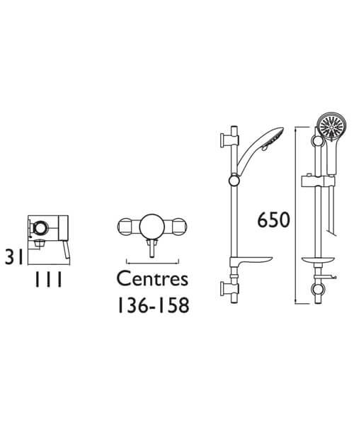 Technical drawing 51453 / PM2 SQSHXAR C