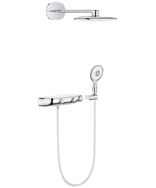 Grohe Rain Shower System Smartcontrol Mono 360 Combiation With Thermostatic