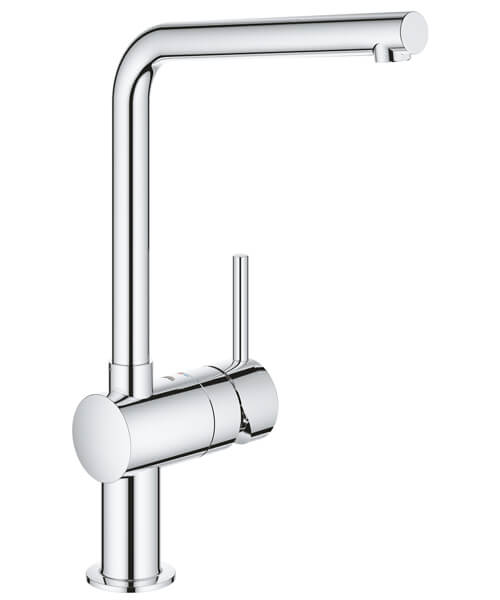 Grohe Minta L Spout Kitchen Sink Mixer Tap