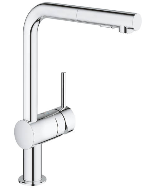Grohe Minta Deck Mounted Kitchen Sink Mixer Tap