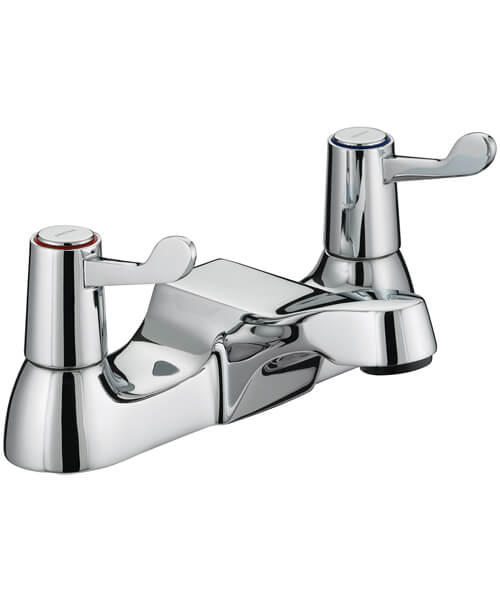 Bristan Value Lever Bath Filler Tap With 76mm Levers