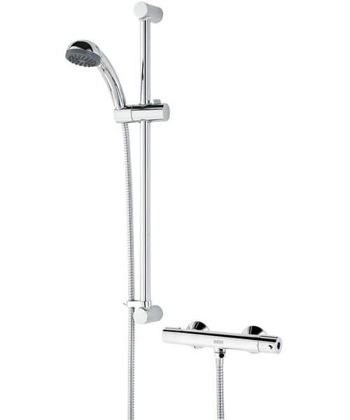 Bristan Zing Basic Cool Touch Chrome Finish Bar Mixer Valve With Kit