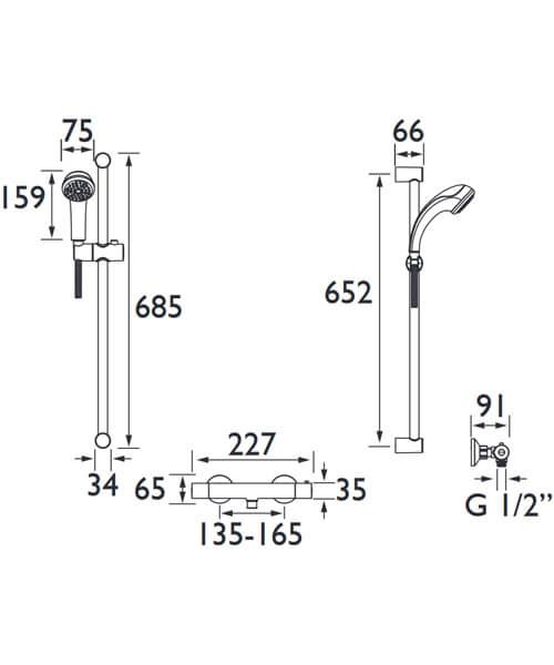 Technical drawing 32030 / ZI SHXSMCT C