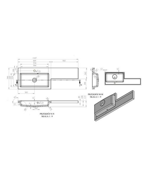 Technical drawing 62665 / EFP309CA