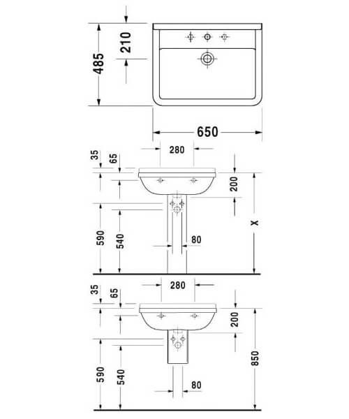 Technical drawing 6826 / 0300500000
