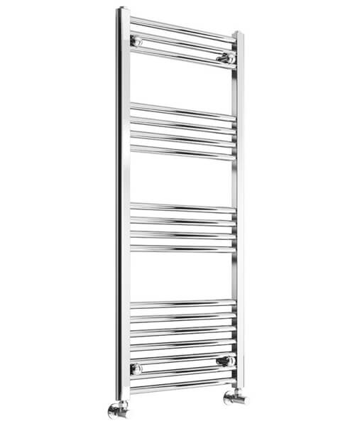 Reina Capo 600mm Wide Flat Towel Rail Chrome