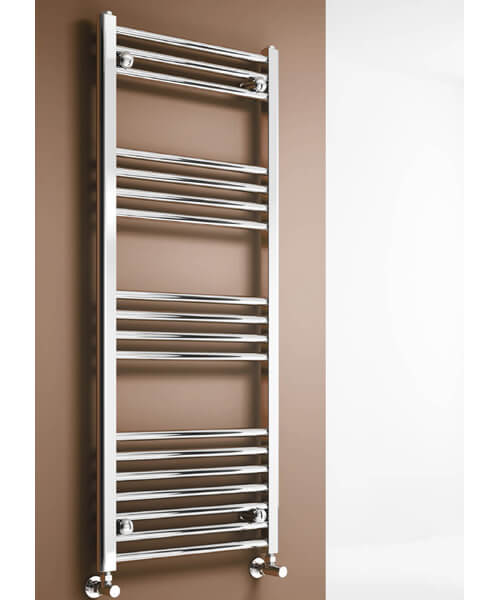 Alternate image of Reina Capo 600mm Wide Flat Towel Rail Chrome