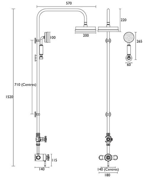 Technical drawing 46777 / SSOBDUAL04