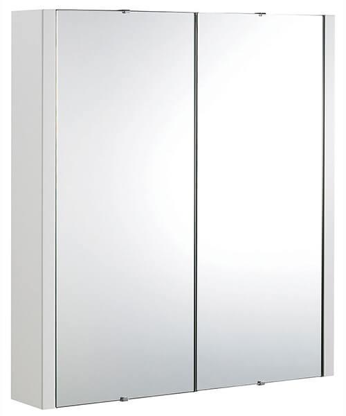 Nuie Premier Eden High 600mm 2 Door Mirror Cabinet