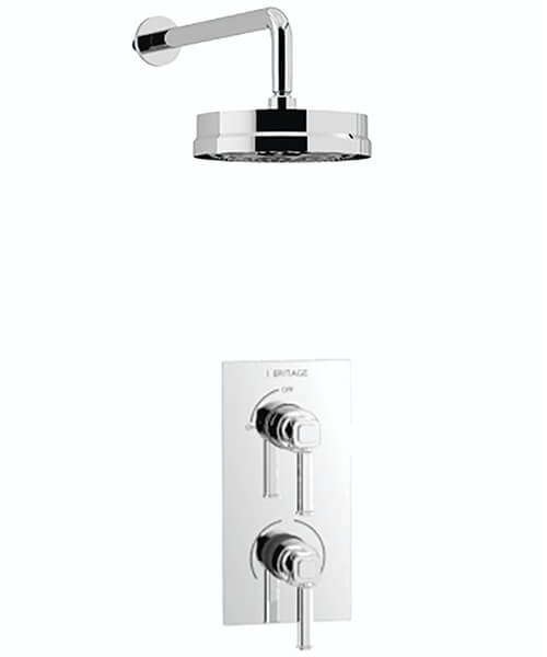Heritage Somersby Concealed Dual Control Valve With Fixed Kit