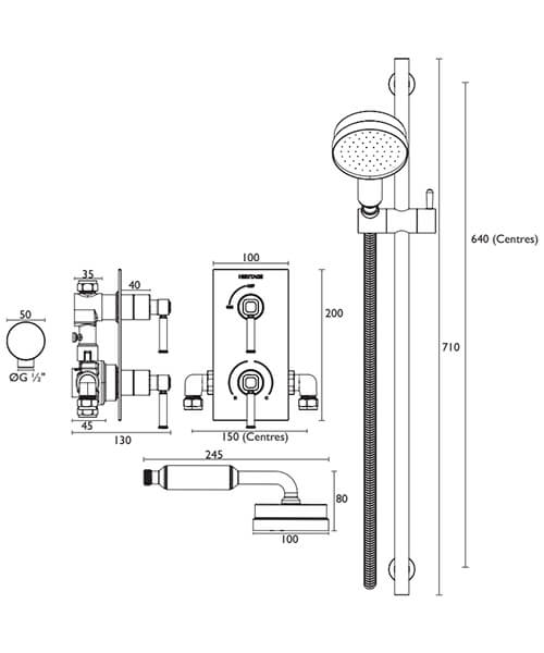 Technical drawing 28423 / SSOBDUAL01