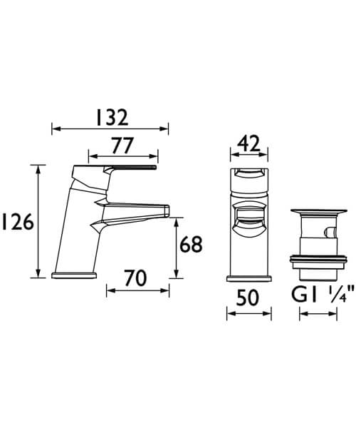 Technical drawing 55422 / PS2 BAS C