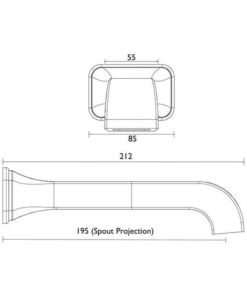 Technical drawing 49063 / TSBC12