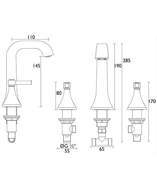Technical drawing 49059 / TSBC06